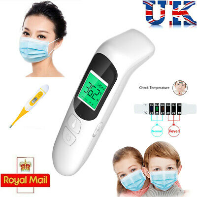 Medical Thermometer Forehead & Ear Infrared Digital Baby Adult Kids IR LCD