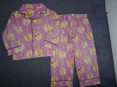 Girls Disney Princess Winter Pyjamas sz 4 - very good condition