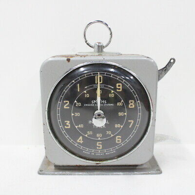 Vintage Smith's English Clock Systems Interval Timer #209