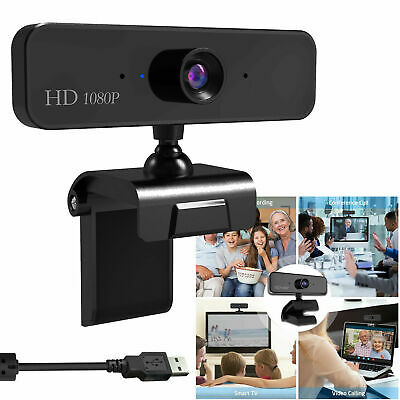 1080P HD Webcam S1 Video Calling 30fps Stand Camera with Mic for Win10 Mac NEW