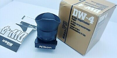 NIKON DW-4  6x High-Magnification Finder Like New in Box