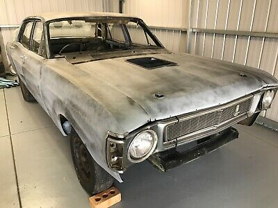 Xw 1970 Ford Factory Fairmont Sedan Roller Project Gt Tribute