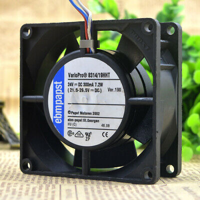 Original For PAPST multifan 8314 2.2w dual ball 8032 808032mm 8cm axial inverter cooling fan