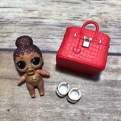 LOL Surprise Doll LIL BOSS QUEEN BABY LIL SIS Dolls GLITTER SPARKLE BABE Bag
