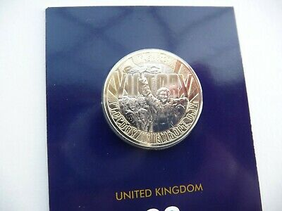 2020 VE Day UK £2 Two Pound BU Coin Brilliant Uncirculated Certified Pack - New.