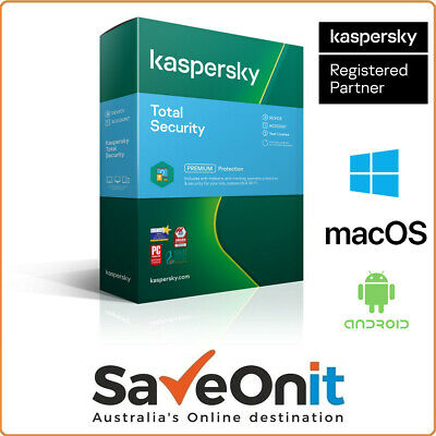 Kaspersky Total Security 2020 3 Device PC 2 Years Email license key