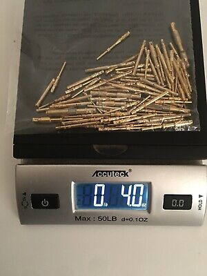 Gold Recovery Scrap 4 OZ Mixed Connector Pins