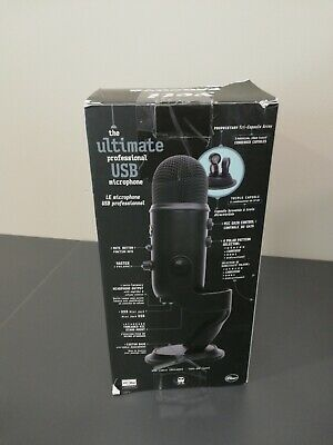 Blue Microphones Yeti USB Microphone - black