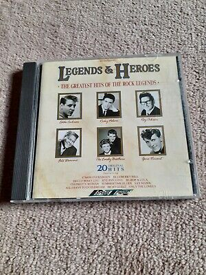 Legends & Heroes Cd. The Greatest Hits Of The Rock Legends