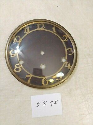 German Art Deco Westminster Chimes Wall Clock  Dial & Bezel & Glass
