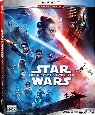 Star Wars: The Rise of Skywalker (Blu Ray) NEW!! (No Digital) *FAST FREE SHIP*
