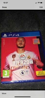 FIFA20 for PS4 - brand new sealed