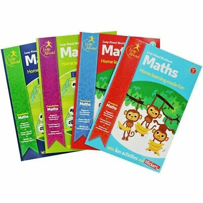Brand New Leap Ahead Educational Books for Children Maths & English Ages 3 to 11