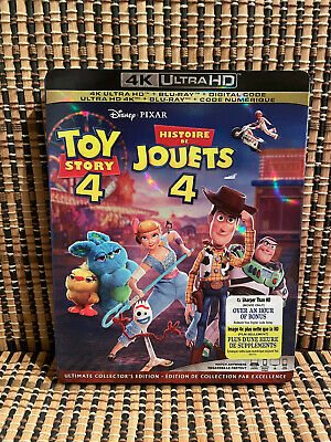 Toy Story 4 4K (1-Disc Blu-ray, 2019)Disney/Woody/Buzz Lightyear/Keanu Reeves