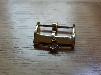 16Mm Rolex Aftermarket Gold Plated Watch Buckle
