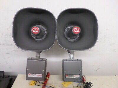 Federal Signal Corporation Selectone 300gc-1z signaling speaker