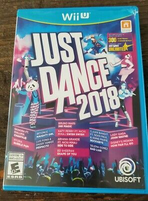Just Dance 2018 Nintendo Wii U Fast Shipping