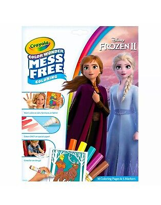 Crayola Color Wonder - Various Themes and Characters - Mess Free Colour Wonder