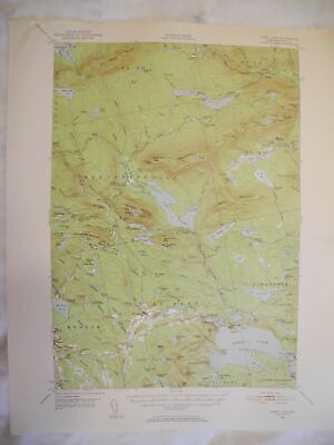 1950 Sebec Lake, ME Maine USGS Topographic Topo Map - 2