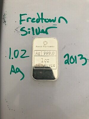 """Rand Refinery 1 Oz 99.9 SILVER BAR """"year of the snake 2013"""""""