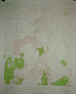 2 USGS Topographic Maps 15 minute from New Mexico with railroads