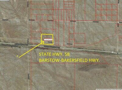 "Huge 6.24 Acres In California City, State Highway ""58"" Fr0Ntage,  Kern County,"