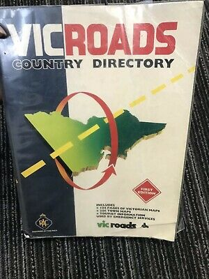 Vic Roads Country Directory - First Edition