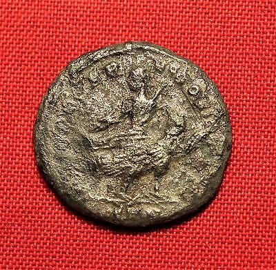 Ancient Roman Silvered Bronze Licinius AE3 Coin, IOVI CONSERVATORI - Very Rare