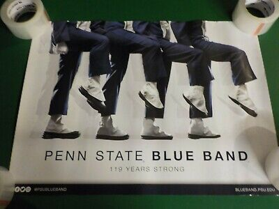 """24"""" x 18"""" Penn State 2020 Blue Band Poster (RC) LAST ONE"""