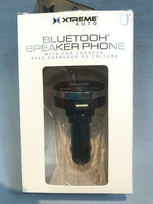New 2.4 Amp Car Charger with Hands Free Bluetooth Speakerphone ~ Xtreme Auto