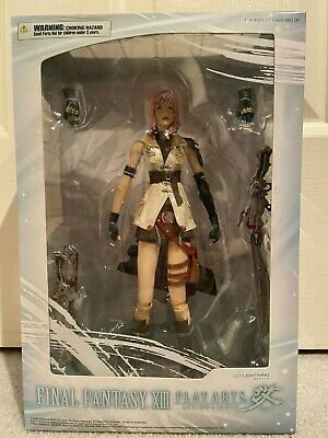 Final Fantasy XIII Play Arts Kai Lightning Square Enix Figure