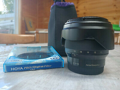 Sony E 10-18mm F/4 OSS Lens in Great Condition