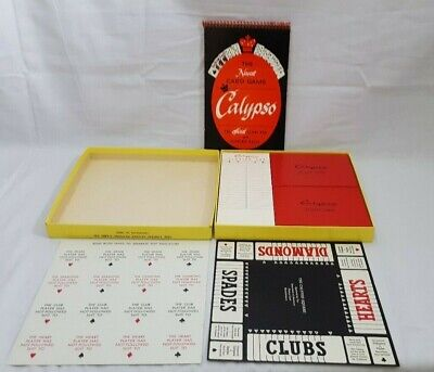 1940's Calypso Card Game P.C. Co. 1 Pack Issue Scott rf27 US Playing Card Stamp