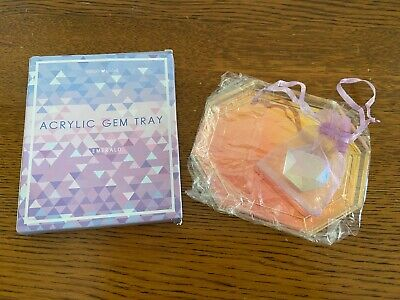 Simply Gilded Acrylic Gem Tray & Gem Holo Holographic Planner Collectable