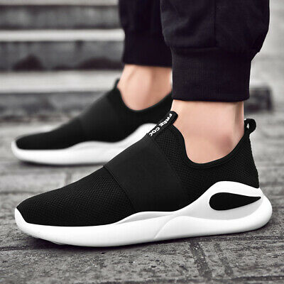 Mens Breathable Sports Casual Sneakers Athletic Outdoor Trainers Running Shoes