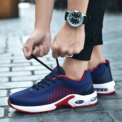 Mens Outdoor Sports Casual Running Athletic Sneakers Breathable Walking Shoes