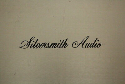 Silversmith Audio speaker cables 1.5m length in excellent condition
