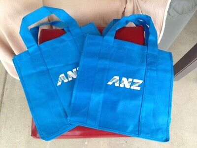 ANZ Bank - Tote/Carry Bags X 2