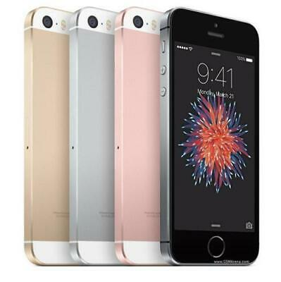 iPhone SE 16 32 64 128GB Apple Grey Pink Gold Silver Smartphone Factory Unlocked
