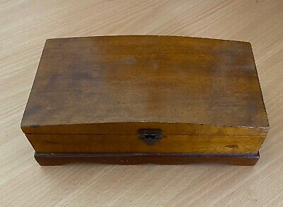 Vintage/antique Collector Wooden Jewellery Box