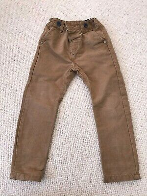 Next Chino Trousers - Beige / Brown - Age 2 - 3 Years