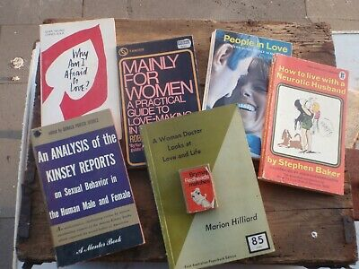 6 Books about  Men-Women Relationships  C 1960's