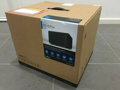 Synology DiskStation DS1515+ 5 Bay NAS Quad Core