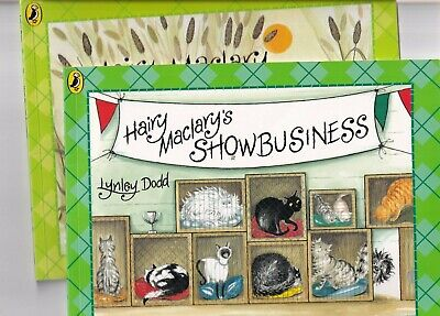 HAIRY MACLARY'S SHOWBUSINESS & HAIRY MACLARY SCATTERCAT book + cd by LYNLEY DODD