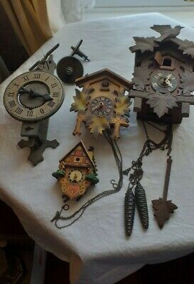 Job Lot Of Clock Parts.