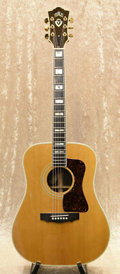 GUILD D-55 Natural Acoustic Guitar Used Free Shipping