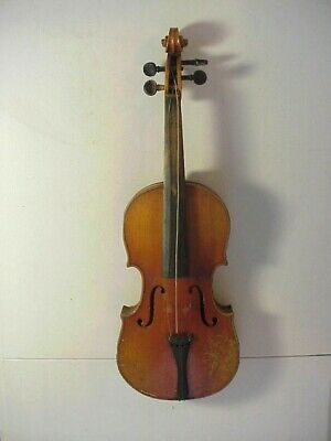 Antique ANTONIUS STRADIVARIUS Model VIOLIN with 1 Piece Tiger Maple Back #4