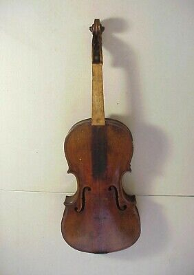 Antique 19th Century Finely Made CONSERVATORY VIOLIN #7