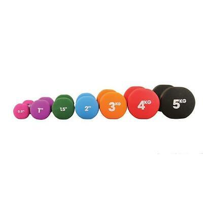 Fitness Mad Dumbbells Neoprene (Pair) Training Weights Home Exercise Fitness