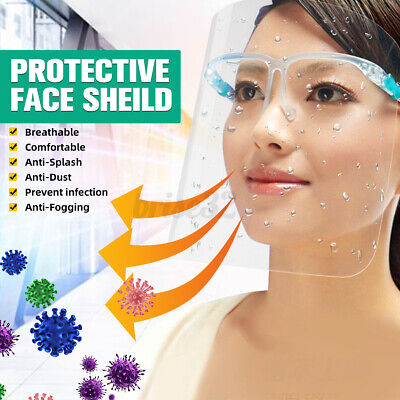 Safety Protective Shield Splash Proof Full Face Protect Isolation Clear Screen